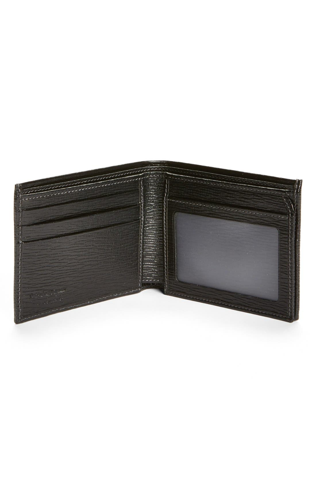 Alternate Image 2  - Salvatore Ferragamo Stamped Calf Wallet