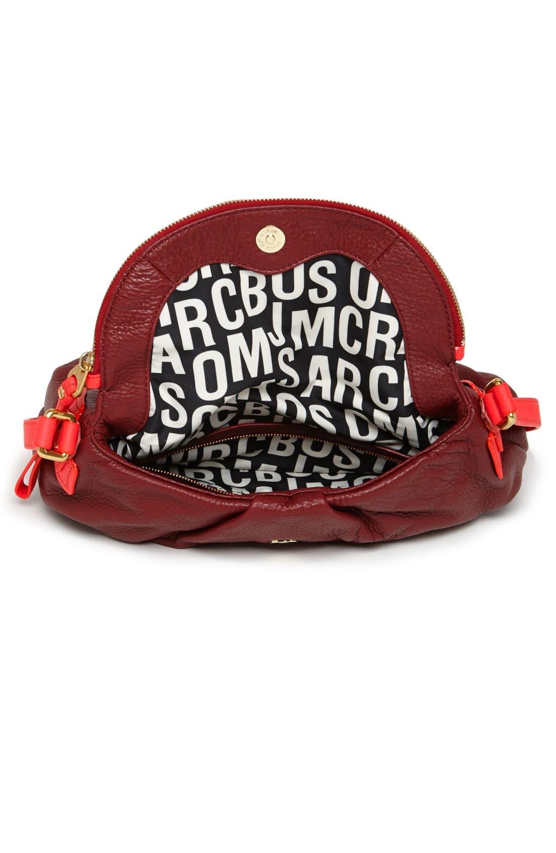 Alternate Image 3  - MARC BY MARC JACOBS 'Classic Q - Natasha' Leather Crossbody Bag