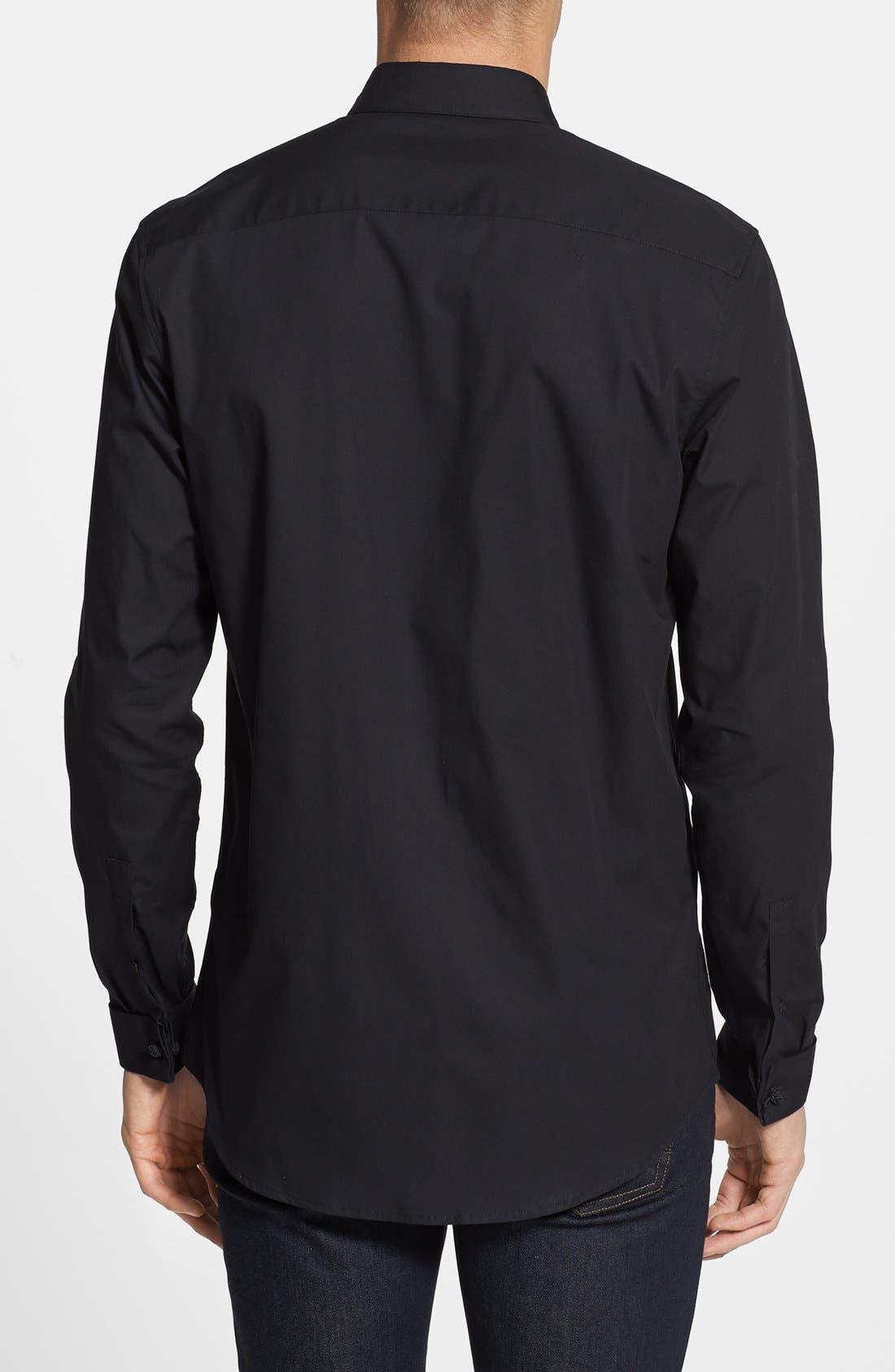 Alternate Image 2  - Topman French Cuff Dress Shirt
