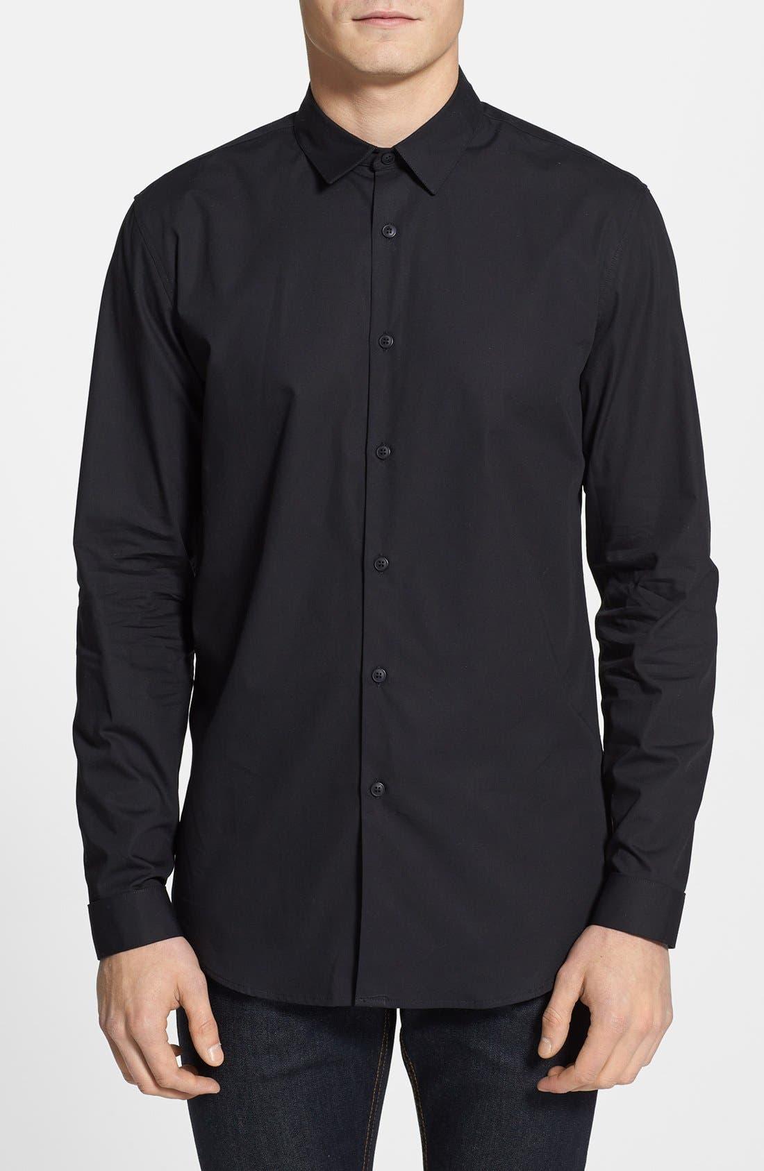 Alternate Image 1 Selected - Topman French Cuff Dress Shirt