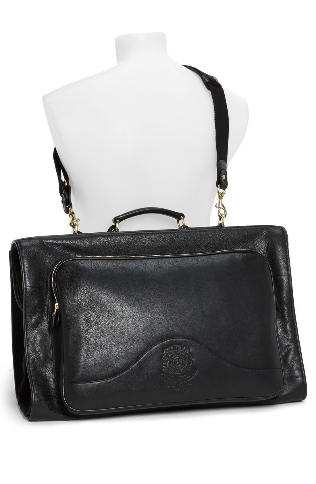 Alternate Image 3  - Ghurka 'Packet No. 83' Leather Garment Bag