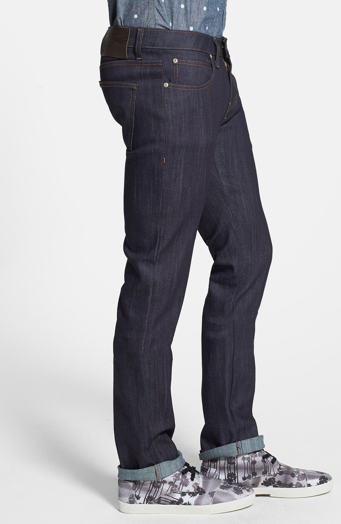 Alternate Image 3  - Naked & Famous Denim 'Skinny Guy' Skinny Fit Jeans (Indigo Power Stretch)