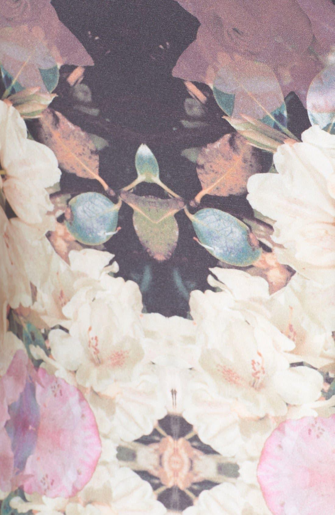 Alternate Image 3  - Topshop 'Mirror Bloom' Jersey Body-Con Dress
