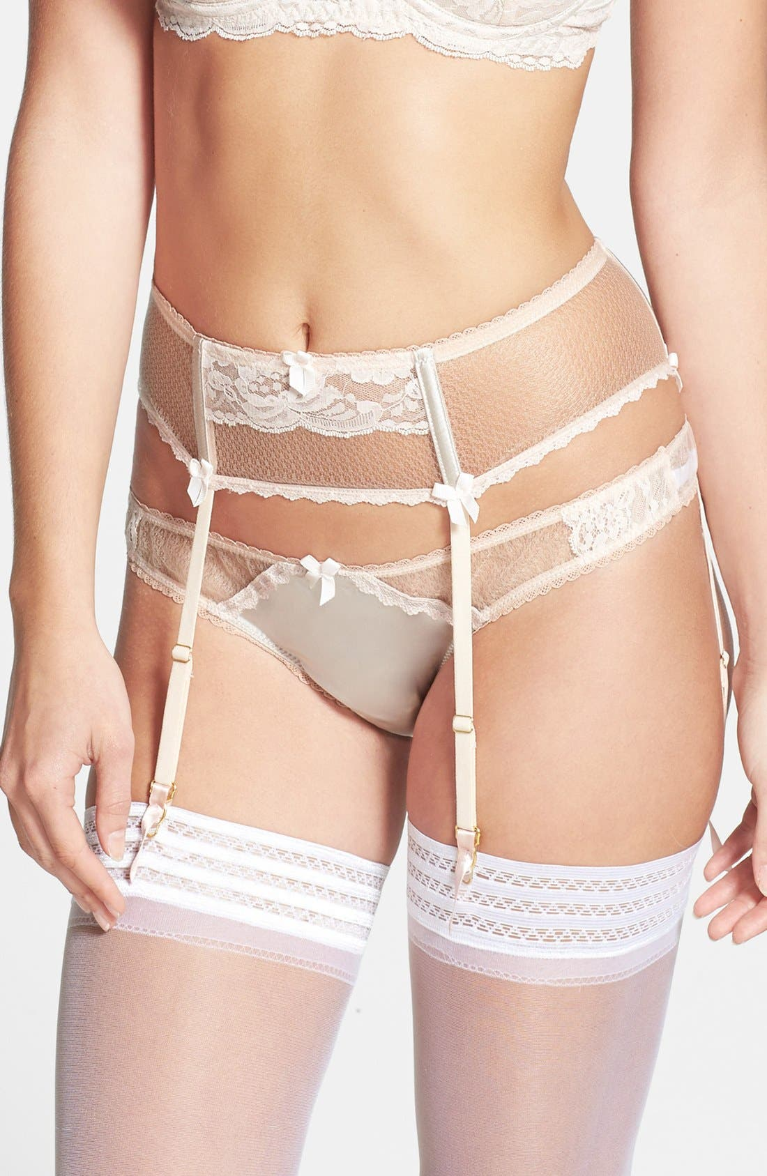Alternate Image 1 Selected - Mimi Holliday 'Sticky Toffee Pudding' Garter Belt