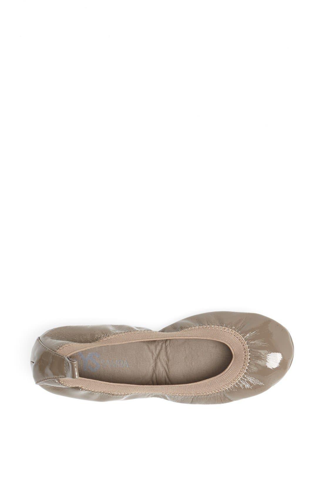 Alternate Image 3  - Yosi Samra Foldable Ballet Flat