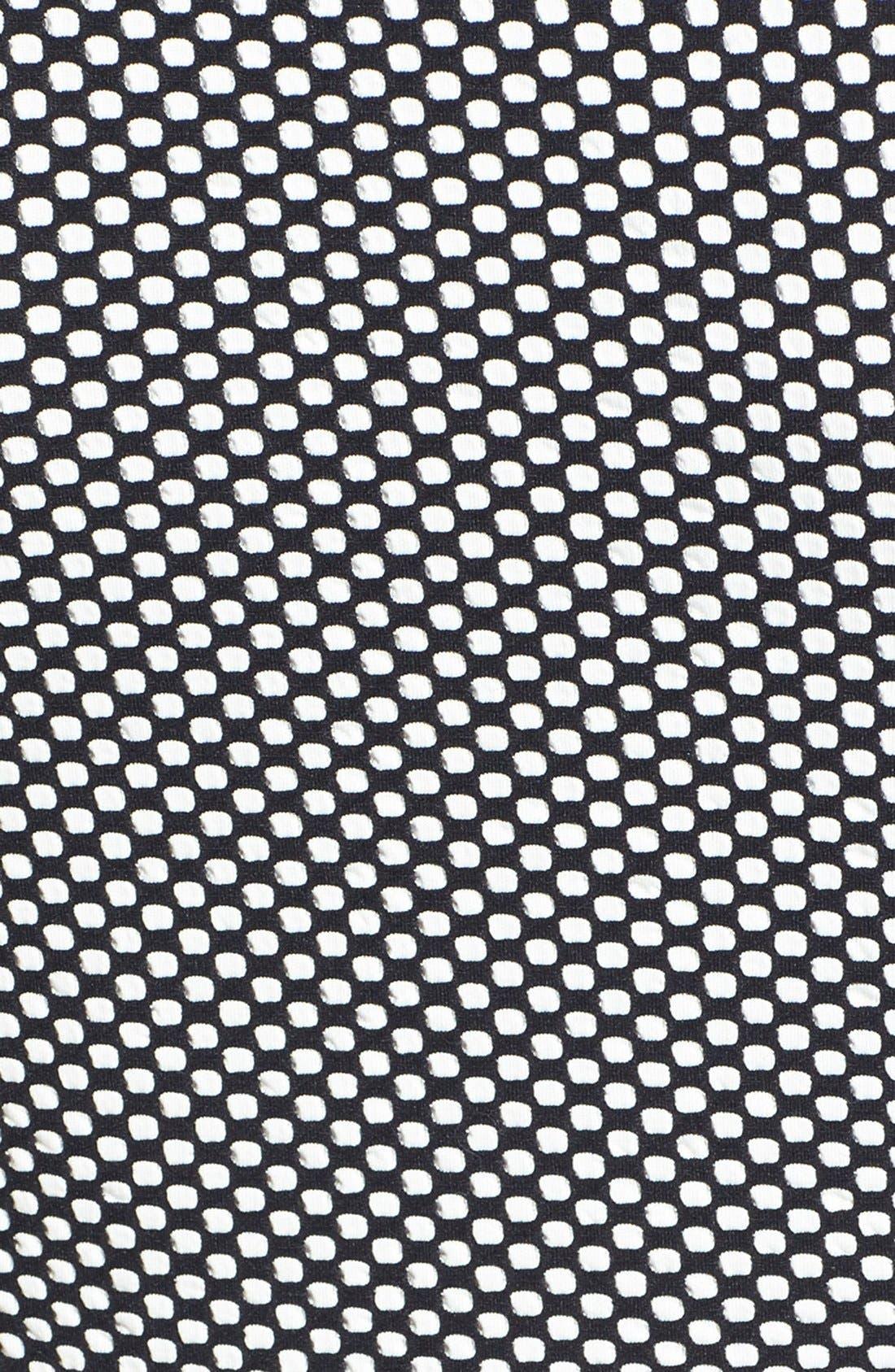 Alternate Image 3  - Topshop Jacquard Dot Skater Dress