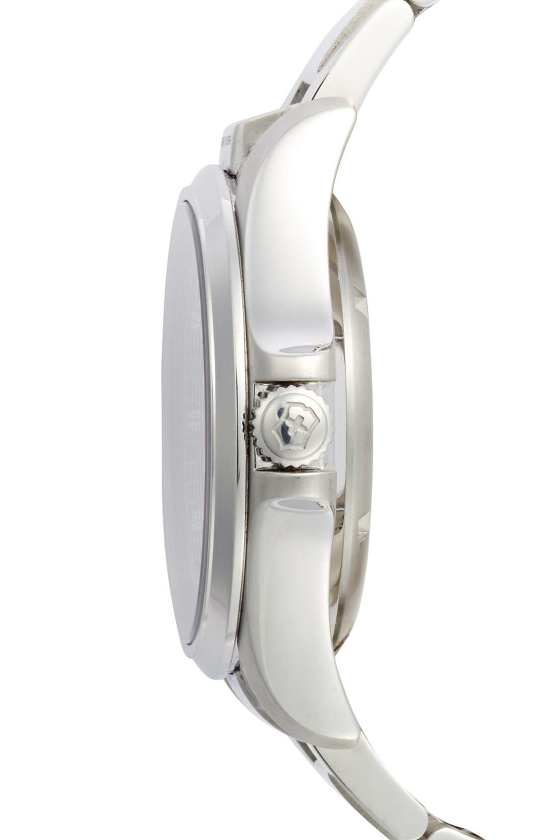 Alternate Image 3  - Victorinox Swiss Army® 'Night Vision' Bracelet Watch, 42mm