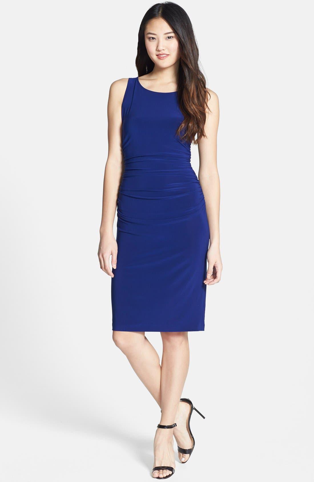 Alternate Image 3  - KAMALIKULTURE Ruched Jersey Sheath Dress