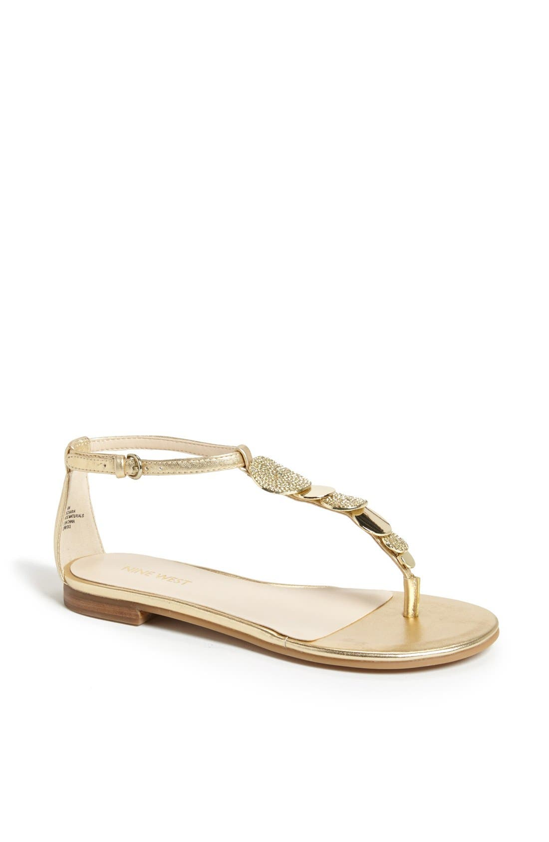Alternate Image 1 Selected - Nine West 'Zacharia' Thong Sandal