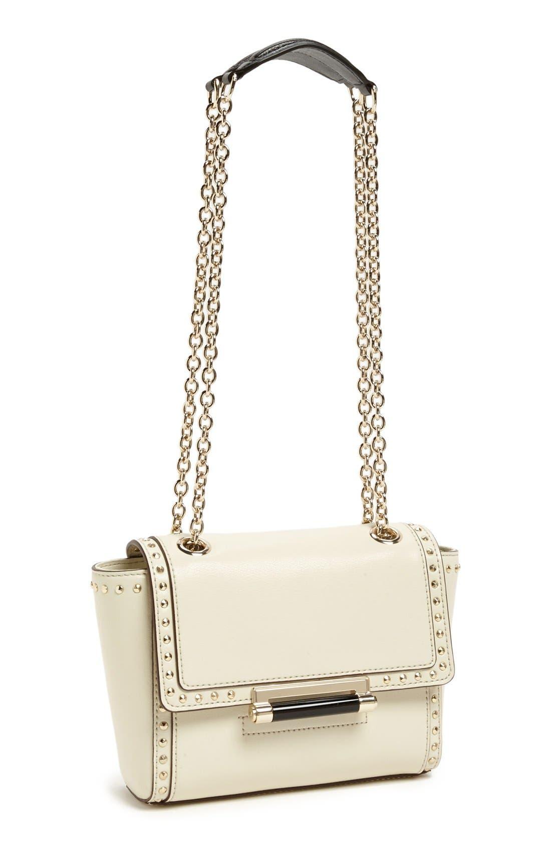 Main Image - Diane von Furstenberg '440 - Mini' Studded Crossbody Bag