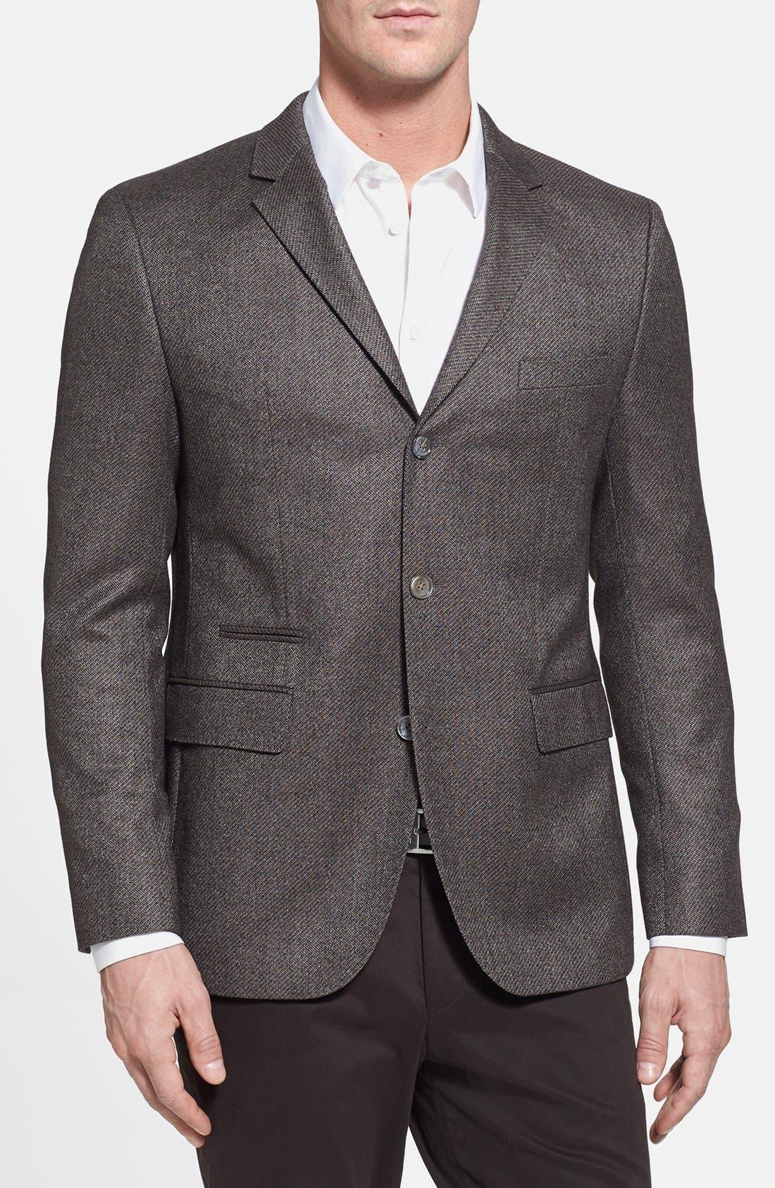 Alternate Image 1 Selected - BOSS HUGO BOSS 'Johnston' Classic Fit Three-Button Sportcoat