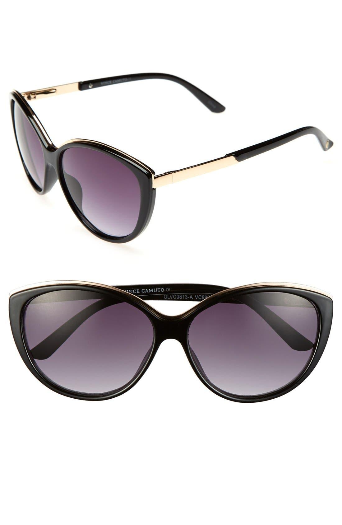 Main Image - Vince Camuto 58mm Cat Eye Sunglasses