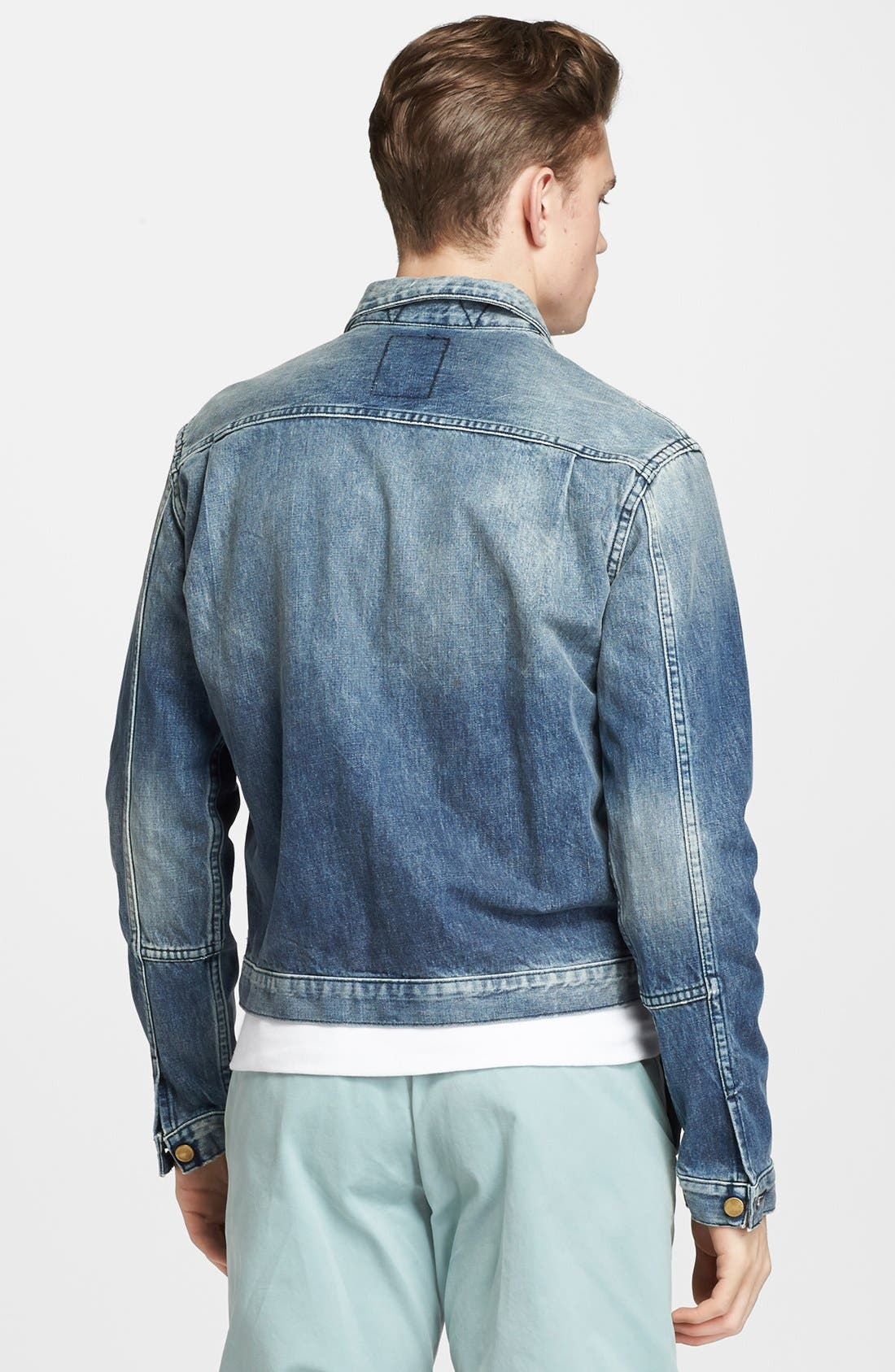 Alternate Image 2  - Billy Reid 'Downing' Denim Jacket