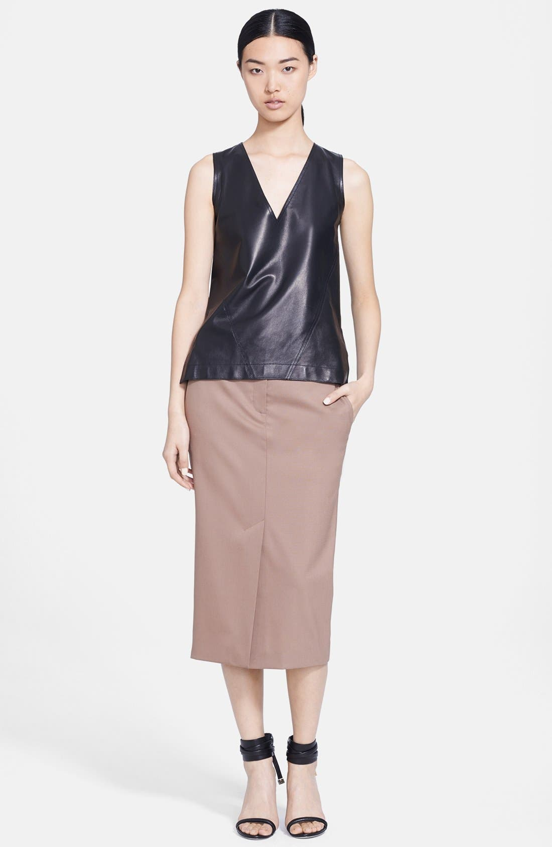 Alternate Image 1 Selected - Jason Wu Leather Shell