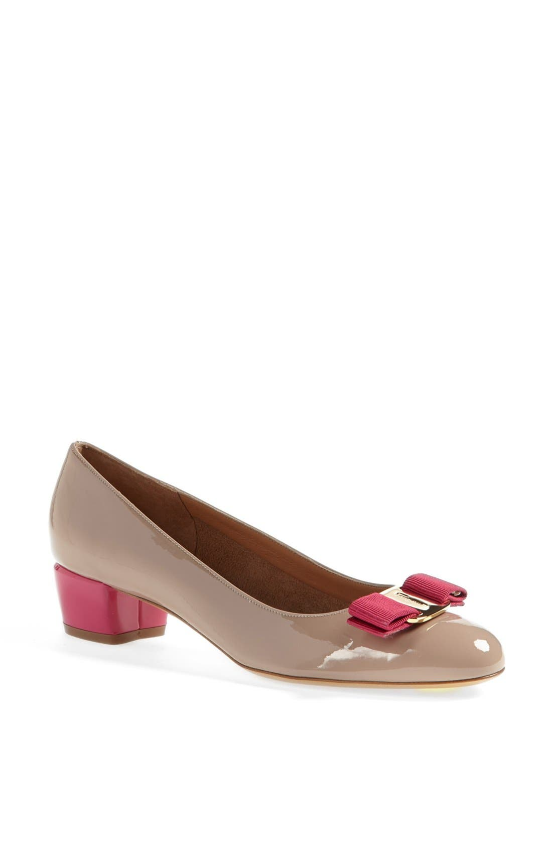 Alternate Image 1 Selected - Salvatore Ferragamo 'Vara' Pump
