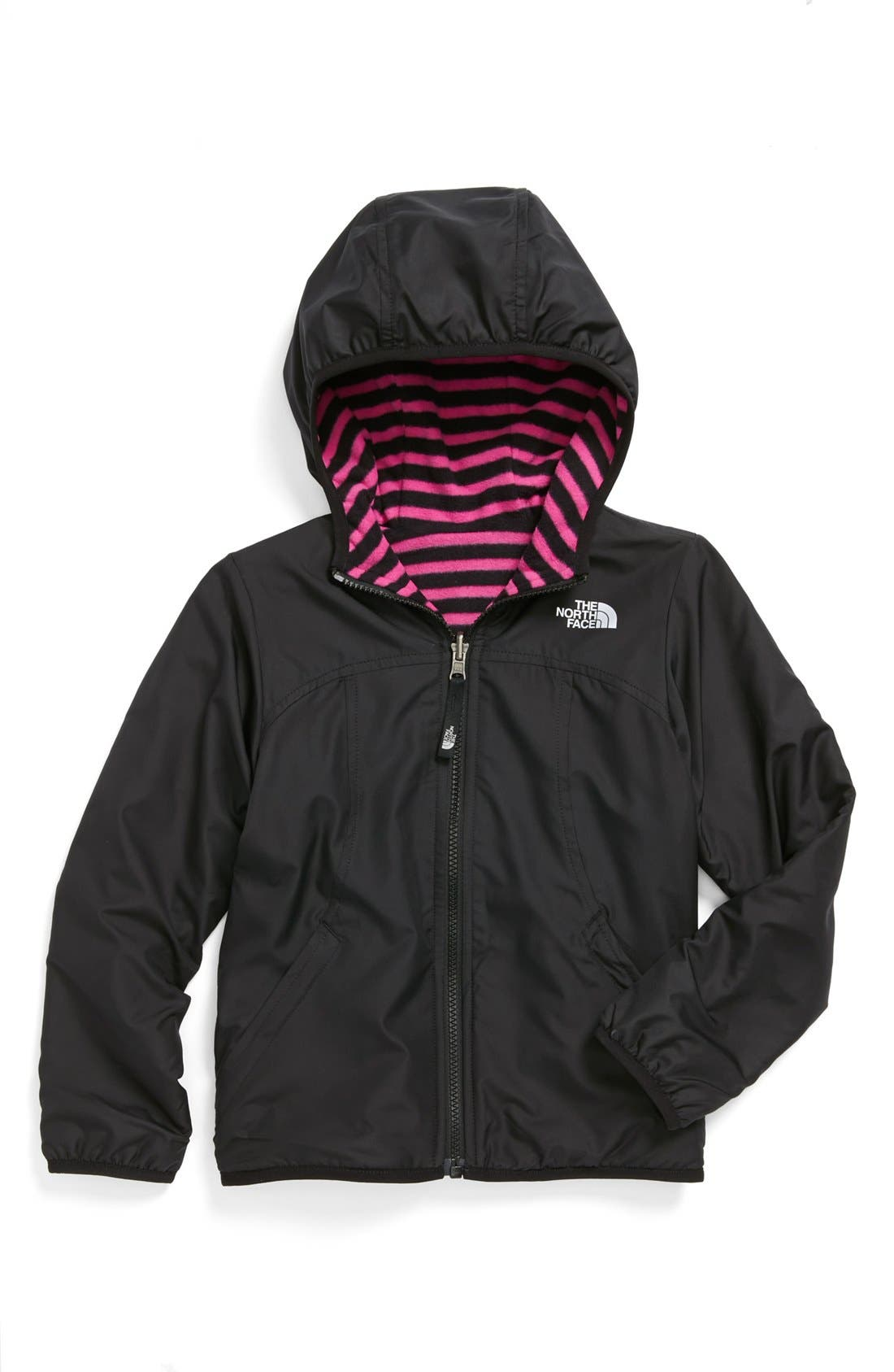 Alternate Image 2  - The North Face 'Comet' Reversible Jacket (Little Girls)