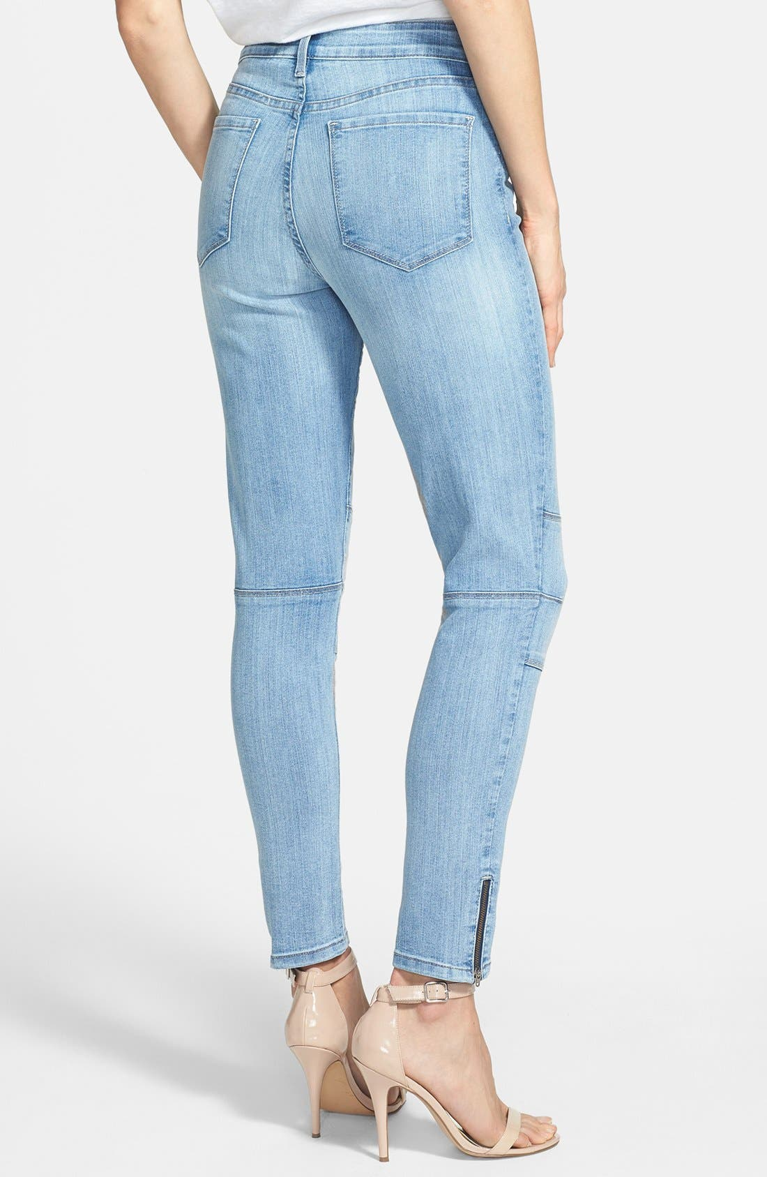 Alternate Image 2  - NYDJ 'Kerry' Stretch Ankle Super Skinny Jeans (Palos Verdes) (Regular & Petite)