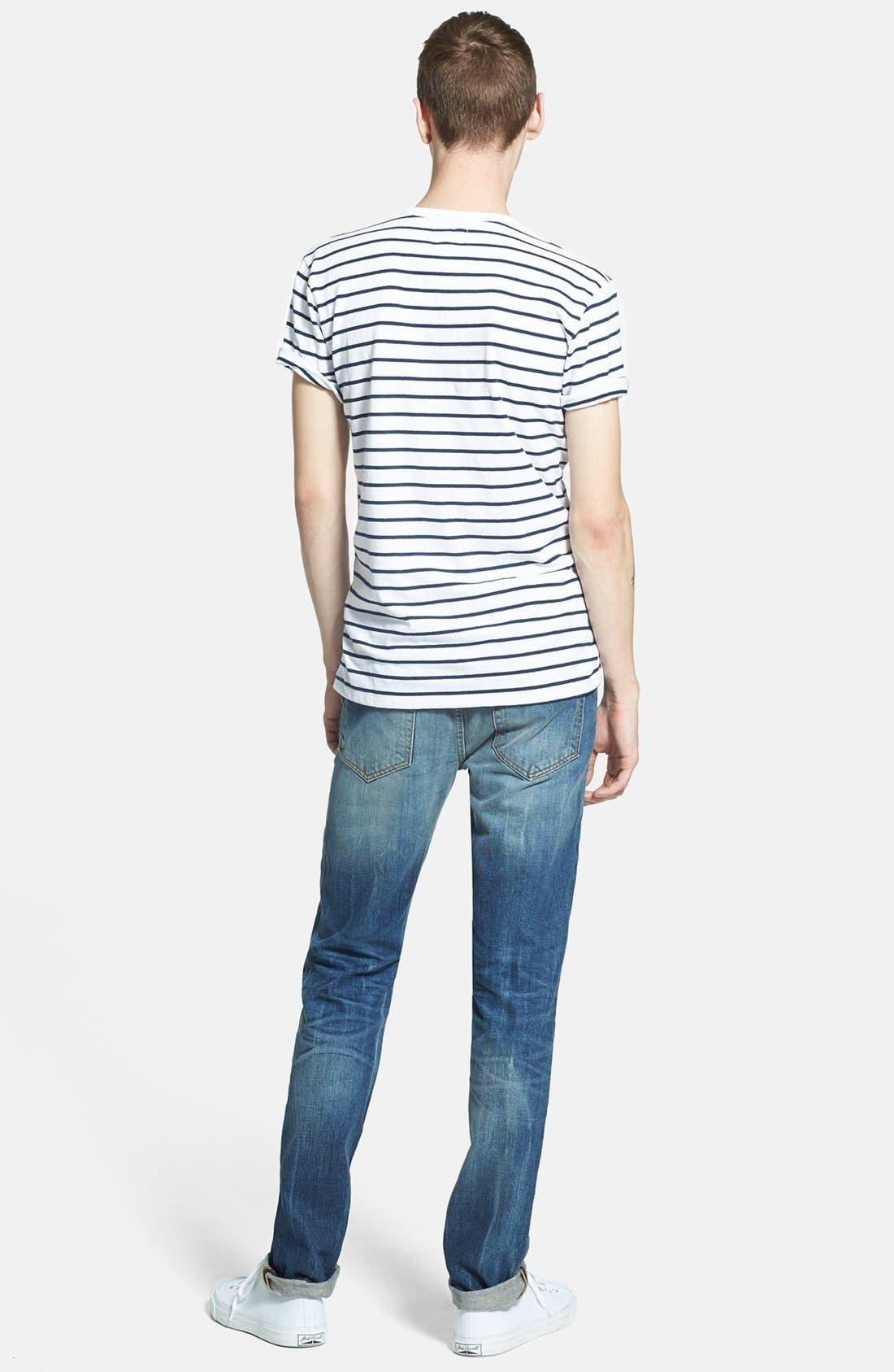 Alternate Image 6  - Joe's 'Brixton' Slim Fit Jeans (Samir)
