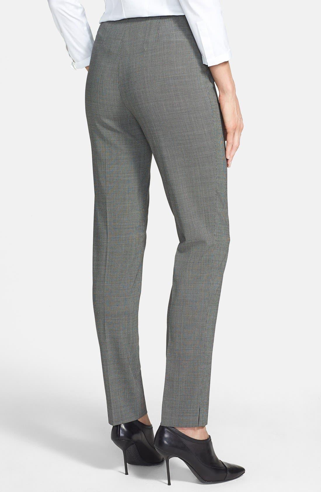 Alternate Image 2  - Lafayette 148 New York 'Chrystie' Stretch Wool Pants