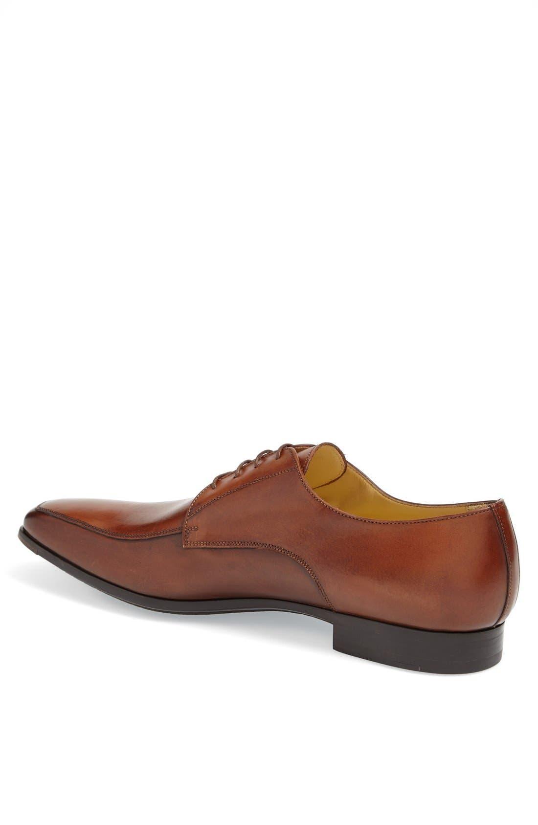 Alternate Image 2  - Santoni 'Prichard' Apron Toe Derby (Men)