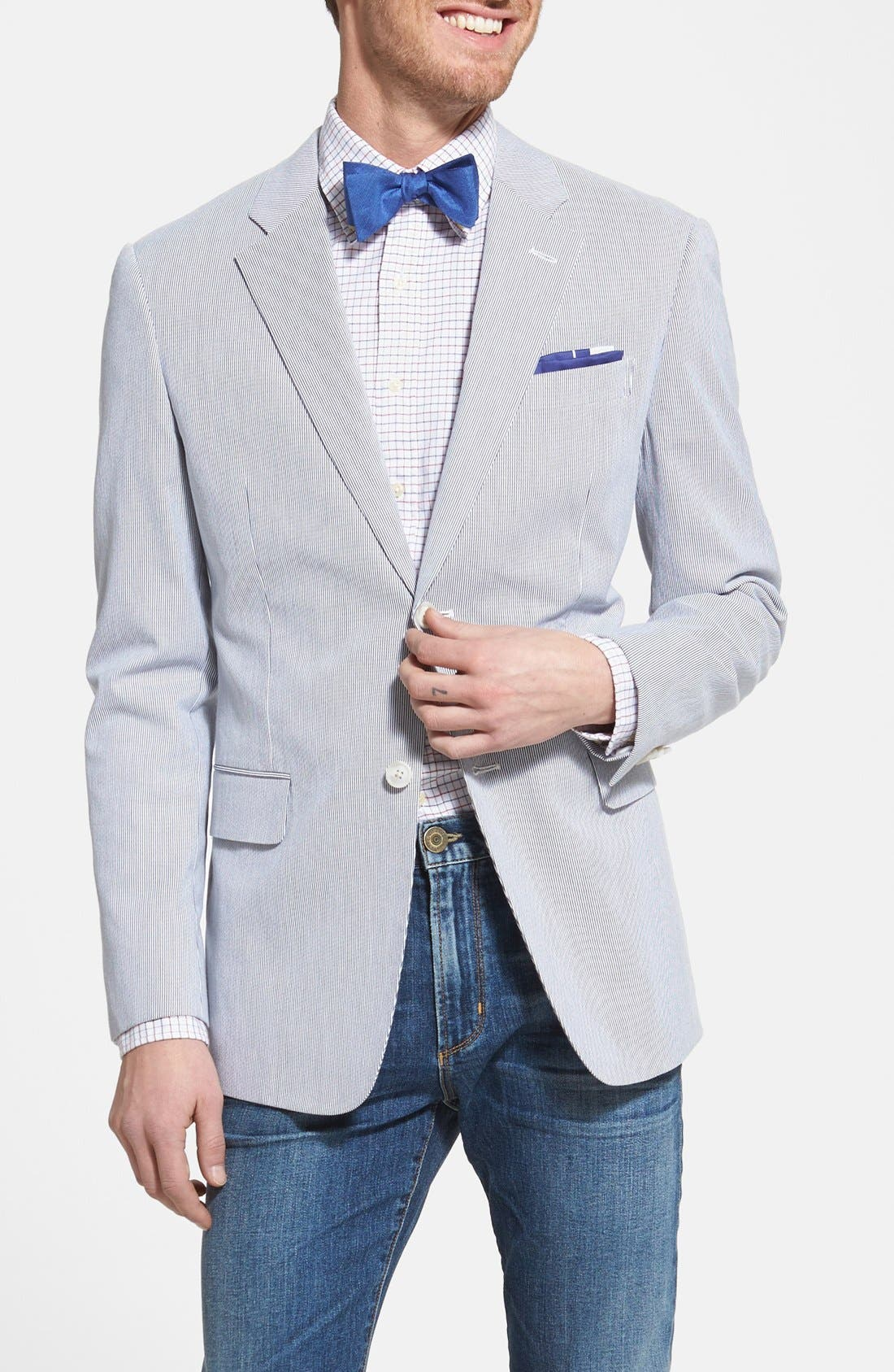 Alternate Image 1 Selected - John W. Nordstrom® Pincord Cotton Jacket