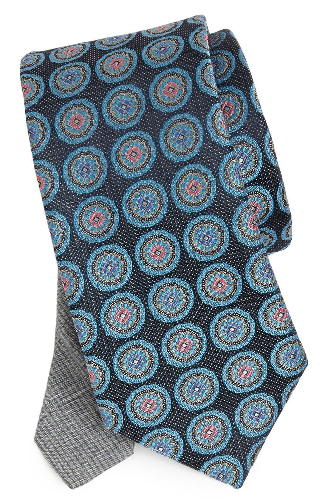 Alternate Image 1 Selected - Samuelsohn Woven Silk Tie