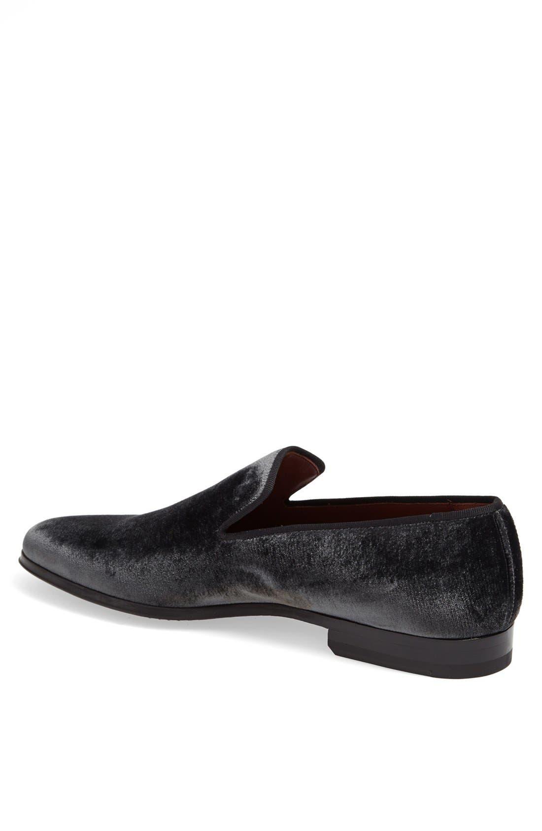 Alternate Image 2  - Magnanni 'Dorio' Velvet Venetian Loafer