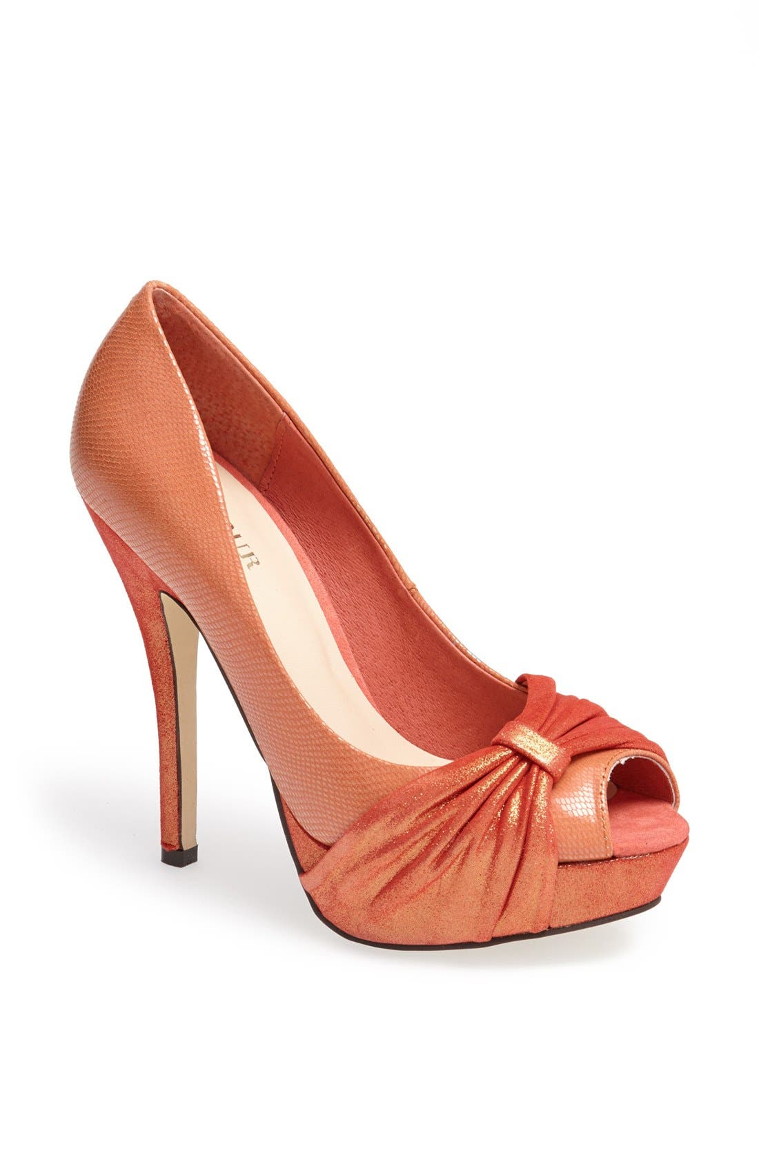 Alternate Image 1 Selected - Menbur Peep Toe Pump