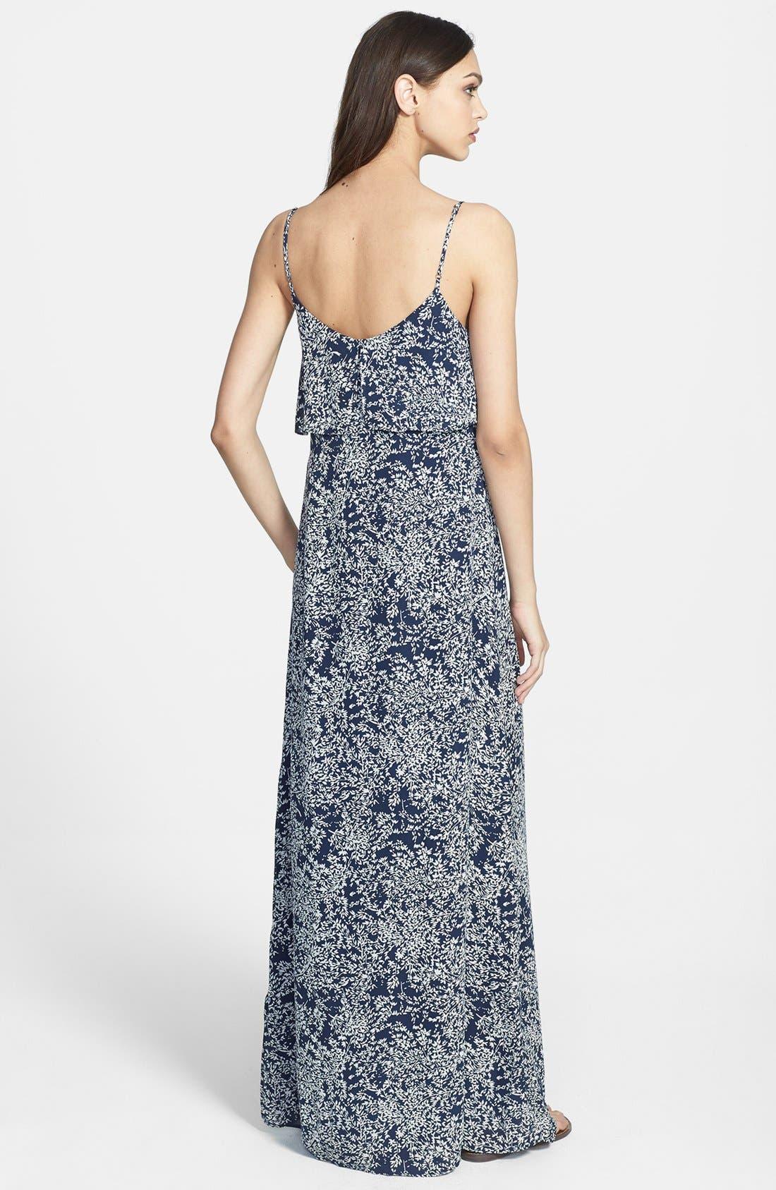Alternate Image 2  - Joie 'Hydeia' Tiered Silk Maxi Dress