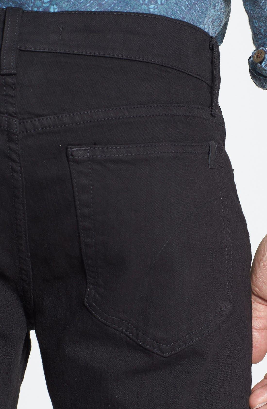 Alternate Image 4  - Joe's 'Brixton' Slim Fit Jeans (Jet Black)