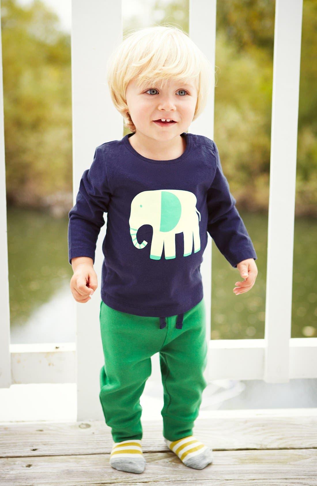 Alternate Image 2  - Mini Boden 'Essential' Cotton Jersey Pants (Baby Boys)