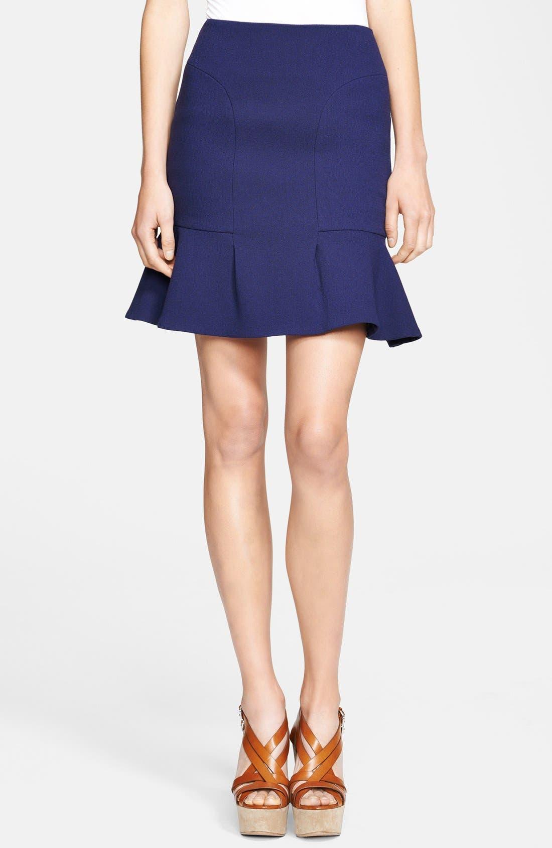 Main Image - Michael Kors Bouclé Stretch Wool Skirt
