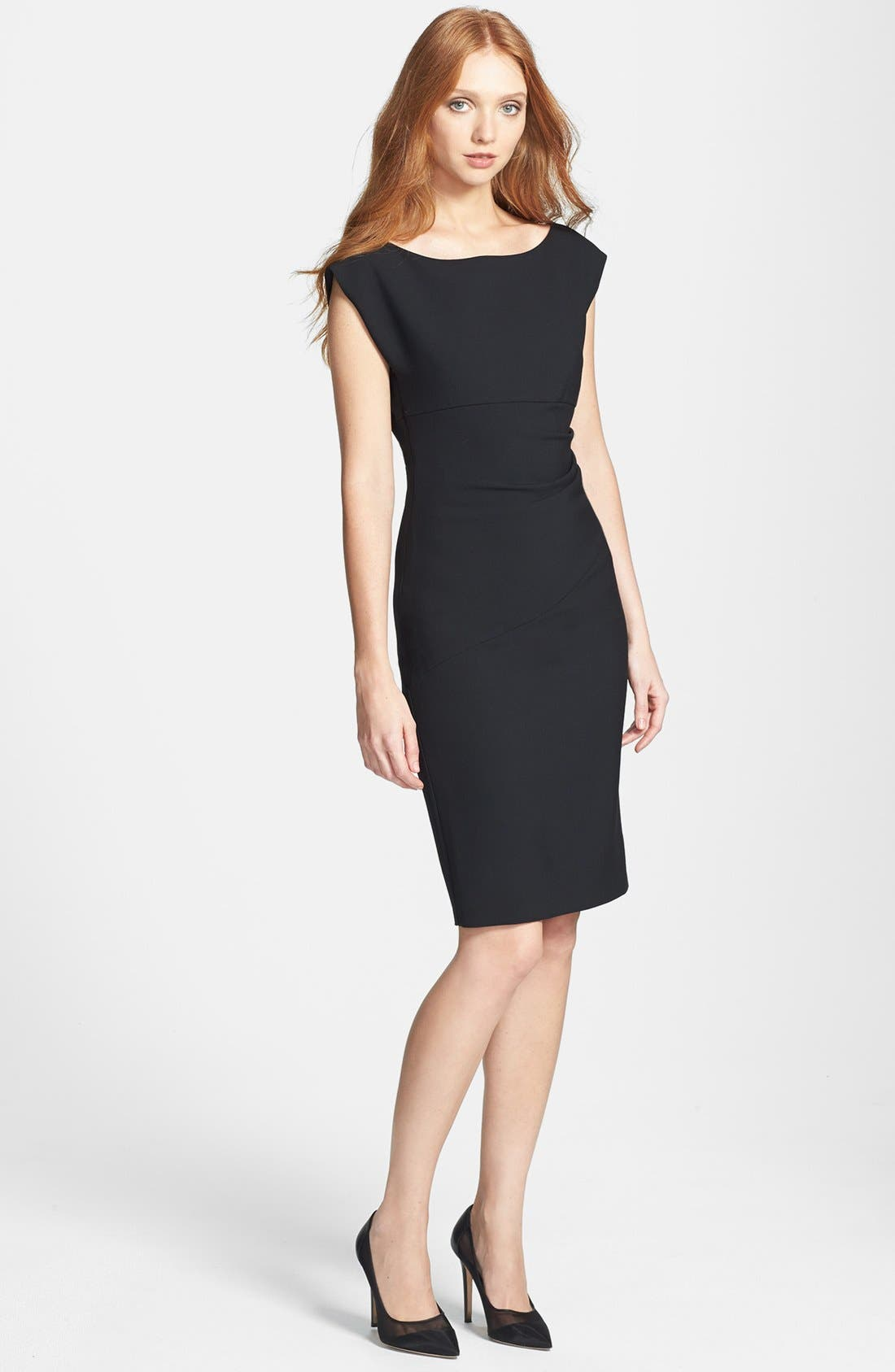 Alternate Image 3  - Diane von Furstenberg 'Jori' Ruched Sheath Dress