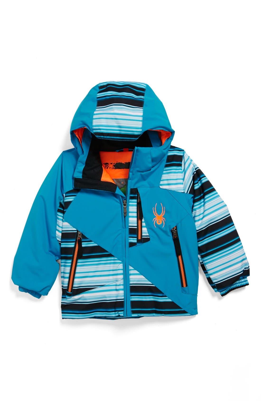 Main Image - Spyder 'Armageddon' Waterproof Snow Jacket (Little Boys)