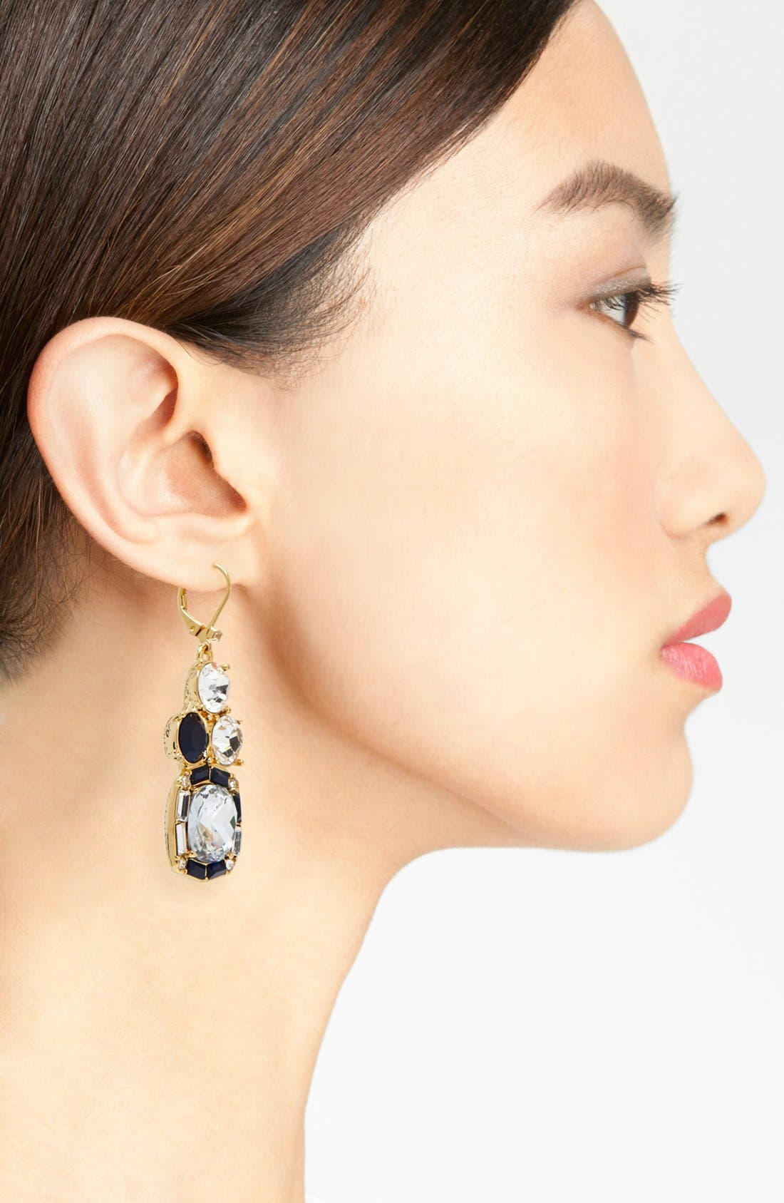 Alternate Image 2  - kate spade new york 'on the town' mixed stone drop earrings