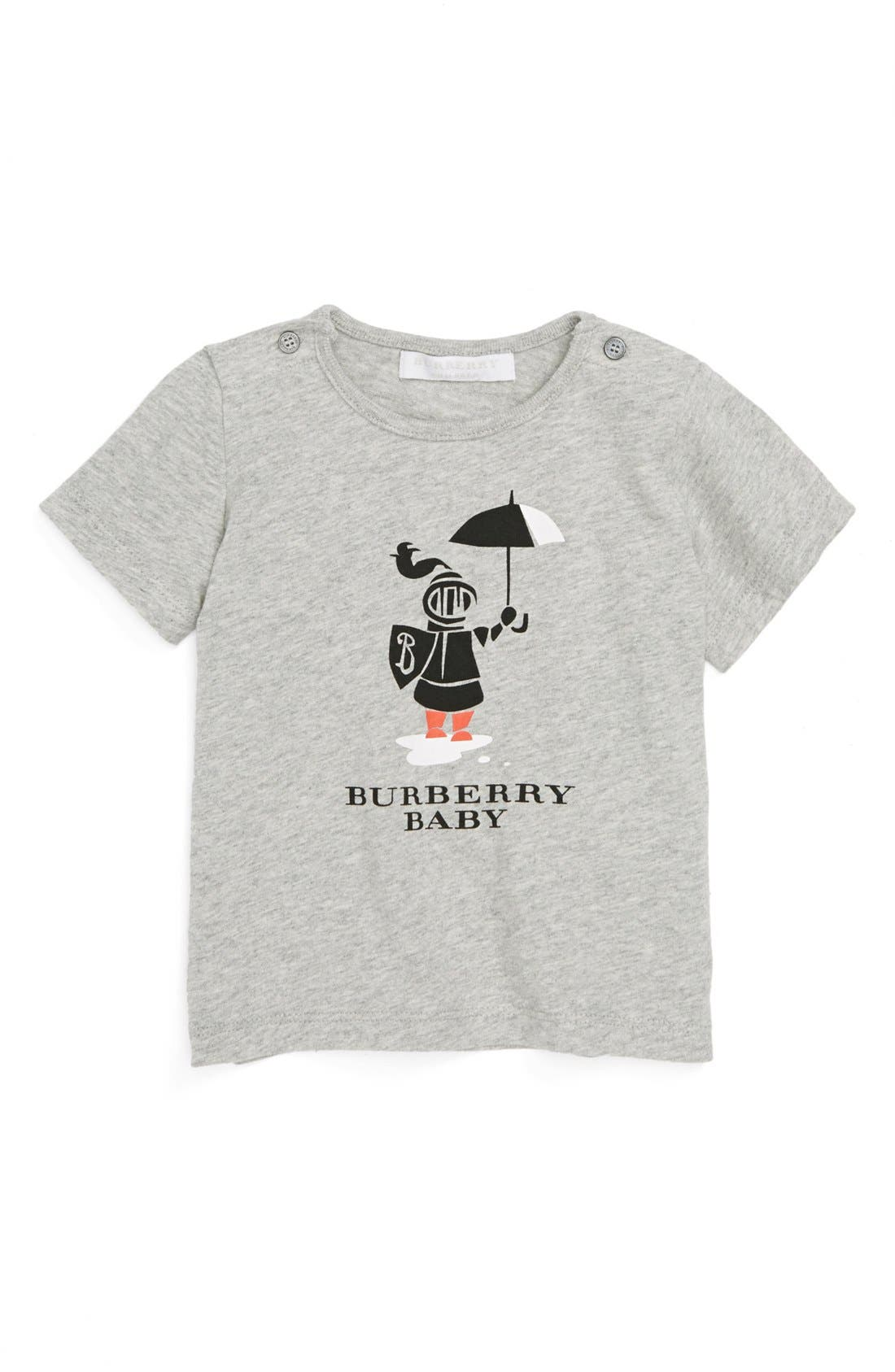 Alternate Image 1 Selected - Burberry Knight Graphic T-Shirt (Toddler Boys)