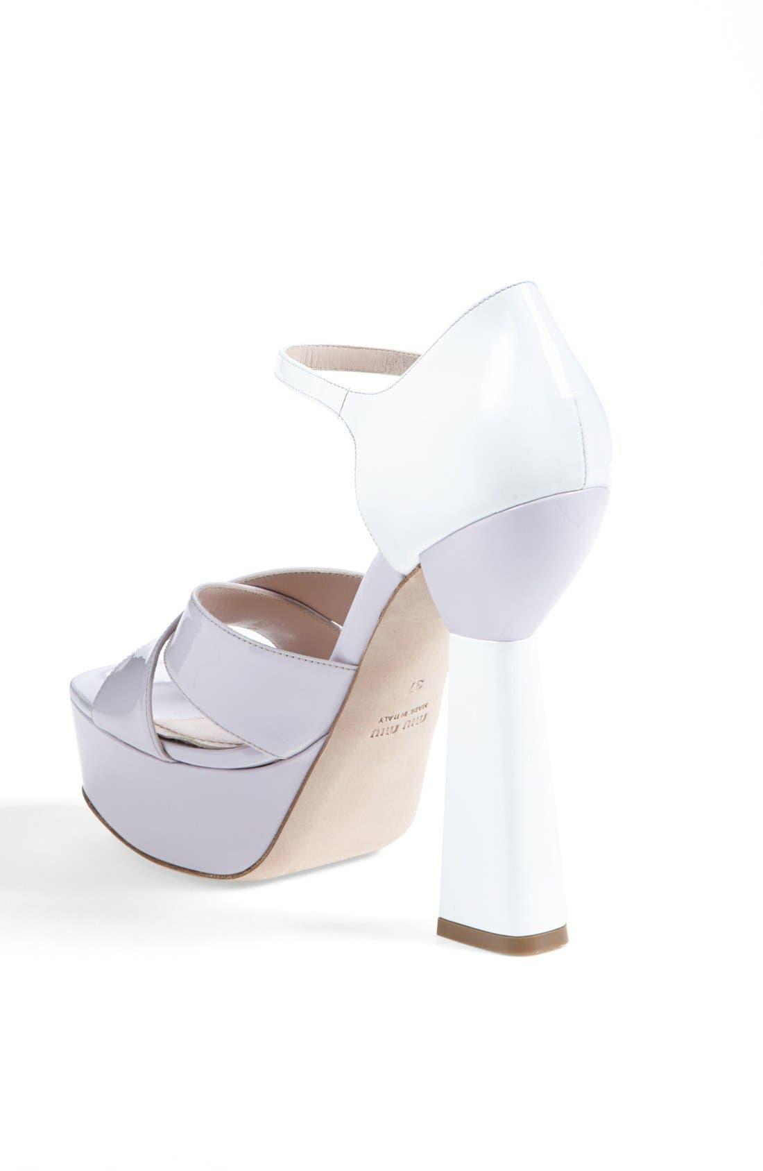 Alternate Image 2  - Miu Miu Mary Jane Platform Sandal