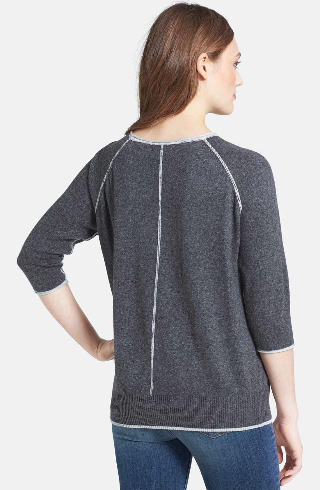 Alternate Image 2  - Press Pullover Sweater