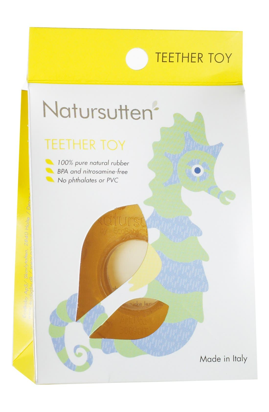 Alternate Image 2  - Natursutten Natural Rubber Teether