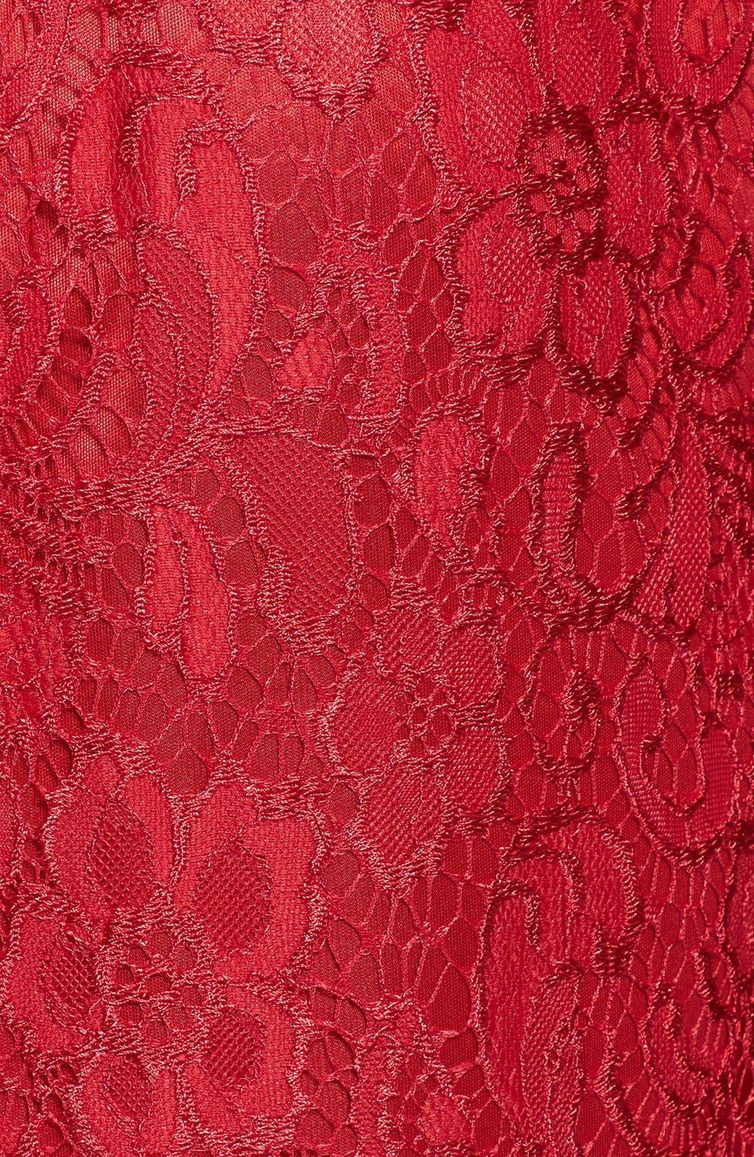 Alternate Image 4  - JAX Lace Sheath Dress