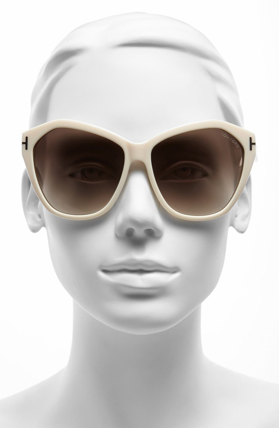Alternate Image 2  - Tom Ford 'Casandra' 61mm Sunglasses
