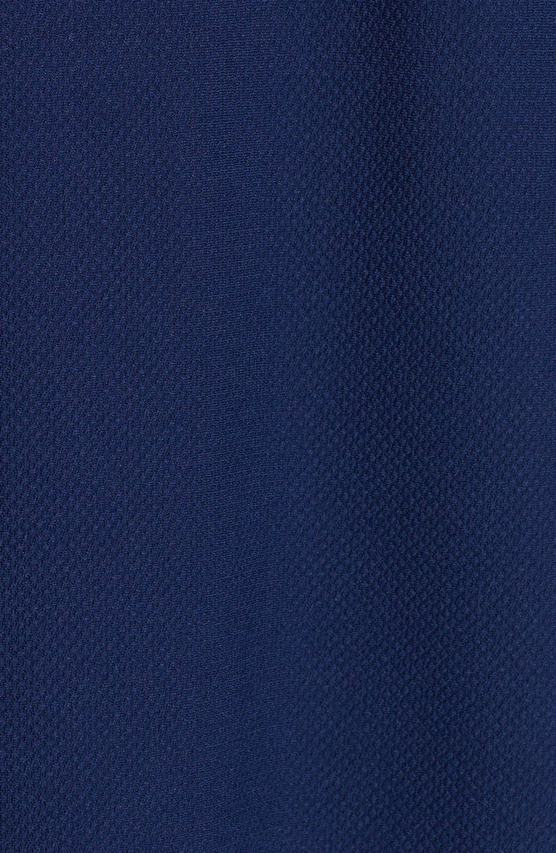 Alternate Image 4  - Donna Ricco Ottoman Piqué Shift Dress