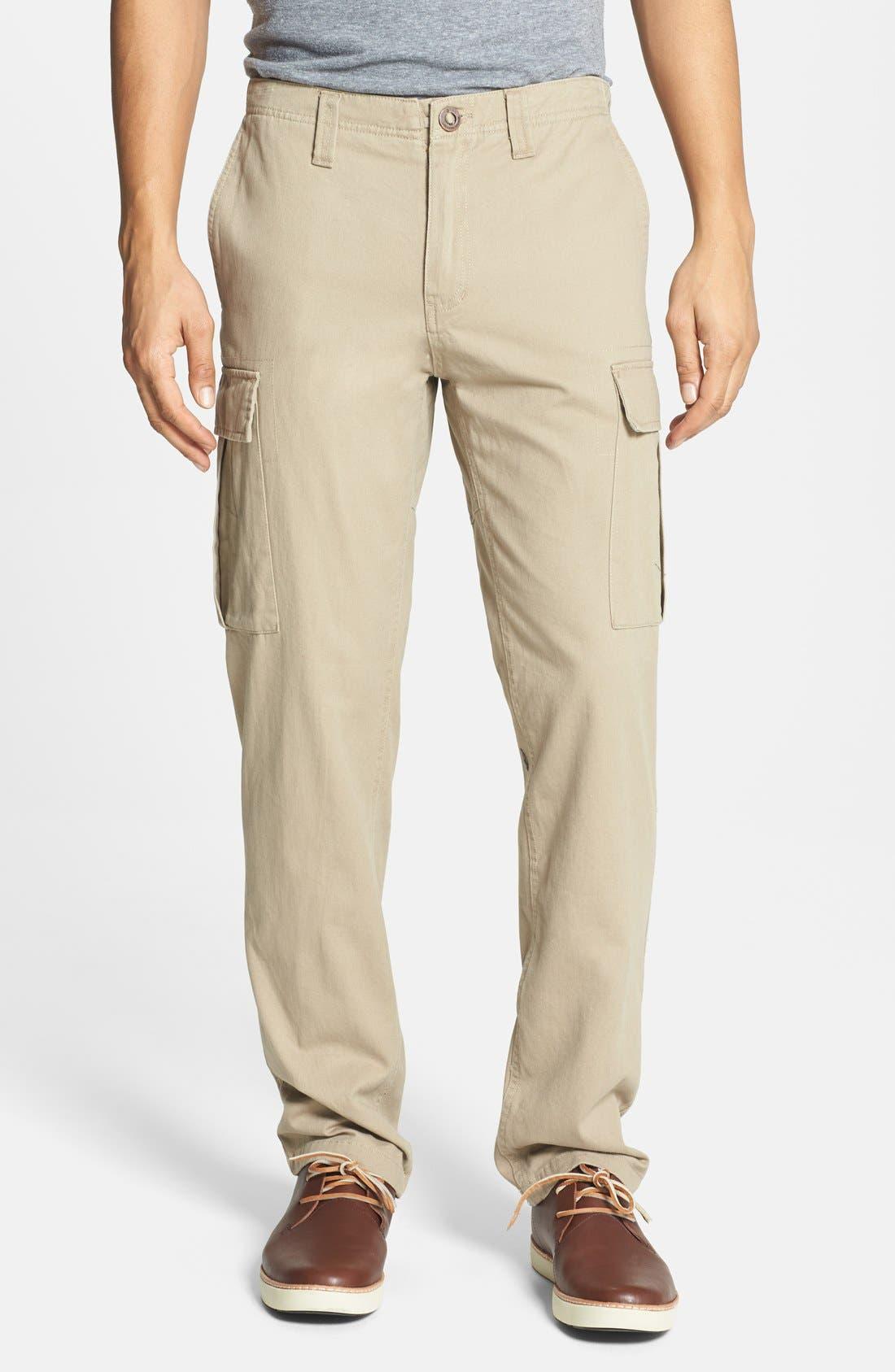 Alternate Image 1 Selected - Volcom 'Slargo' Slim Straight Leg Cargo Pants