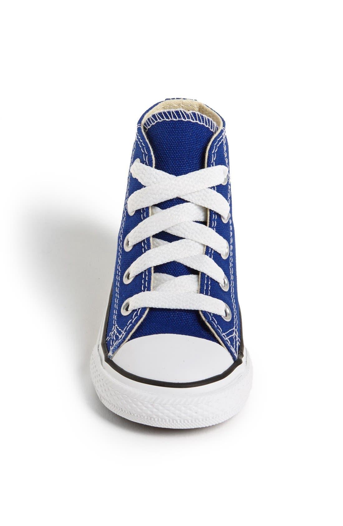 Alternate Image 3  - Converse Chuck Taylor® All Star® High Top Sneaker (Baby, Walker, Toddler & Little Kid)