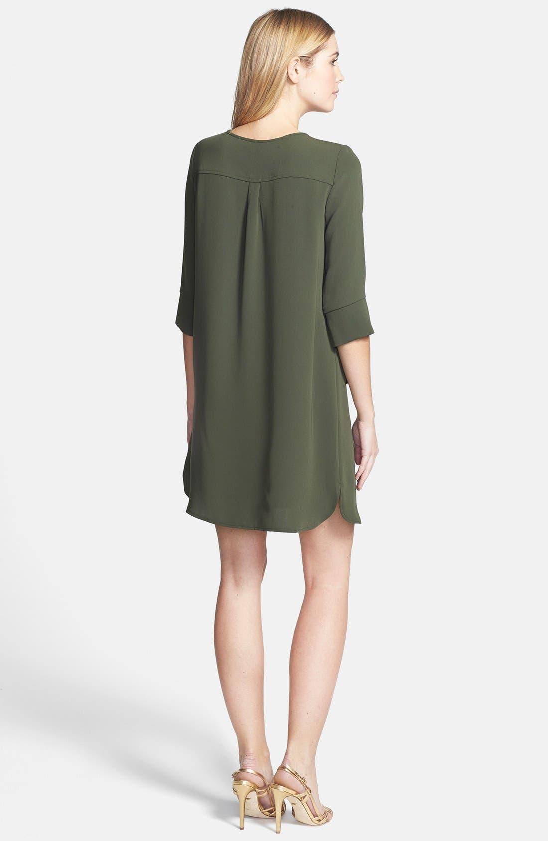 Alternate Image 2  - Diane von Furstenberg 'Agness' Woven Shift Dress