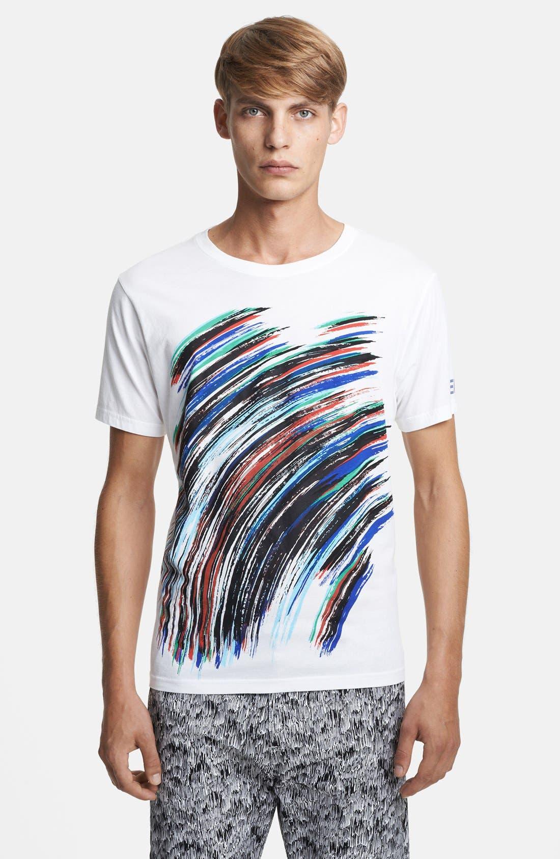 Alternate Image 1 Selected - KENZO Scribble Print Crewneck T-Shirt