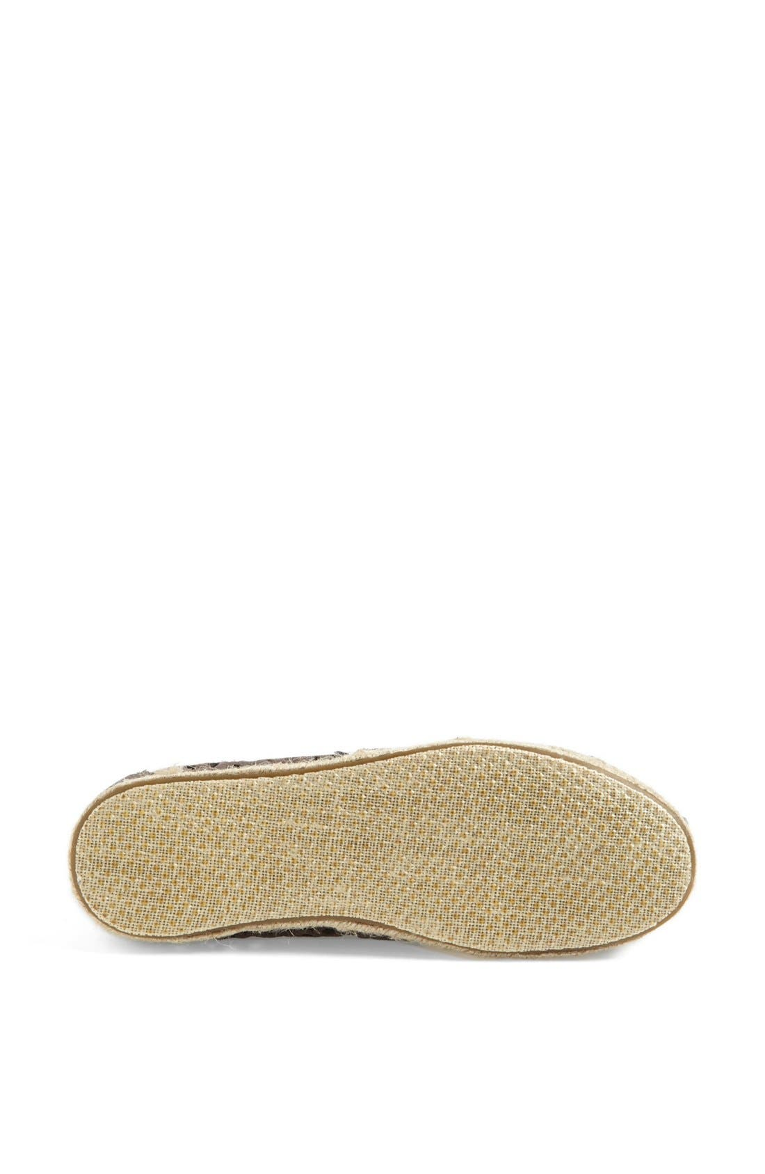 Alternate Image 4  - TOMS 'Classic - Moroccan Cutout' Slip-On (Women)