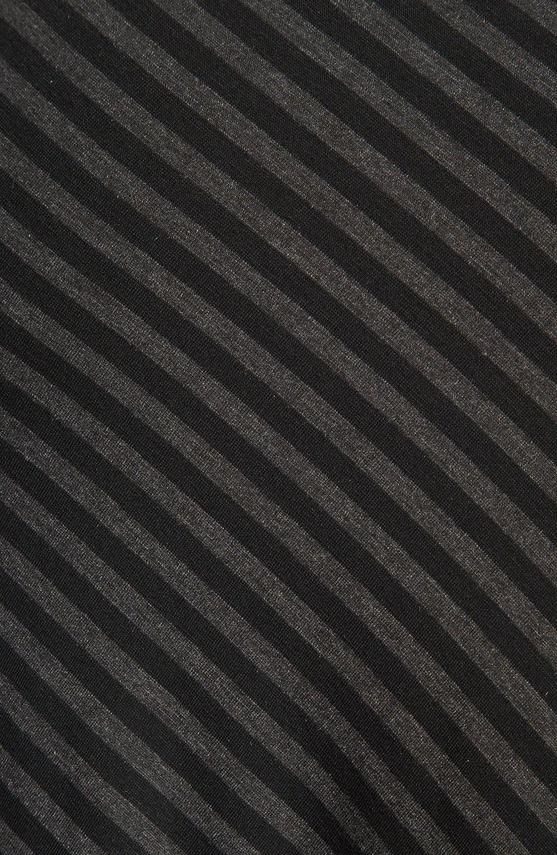 Alternate Image 3  - Bobeau Long Stripe Skirt (Regular & Petite)