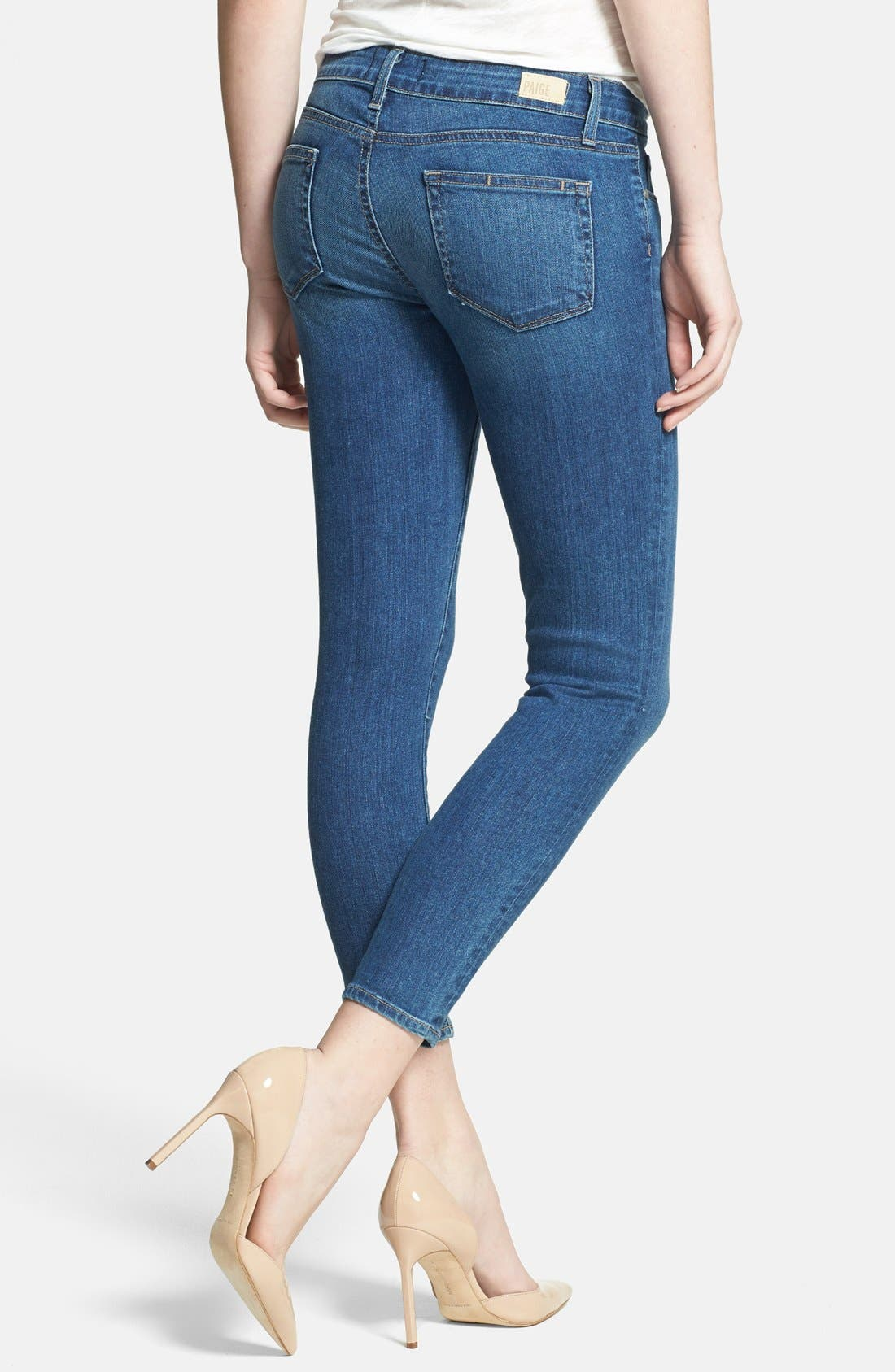 Alternate Image 2  - Paige Denim 'Verdugo' Crop Skinny Jeans (Nevada)