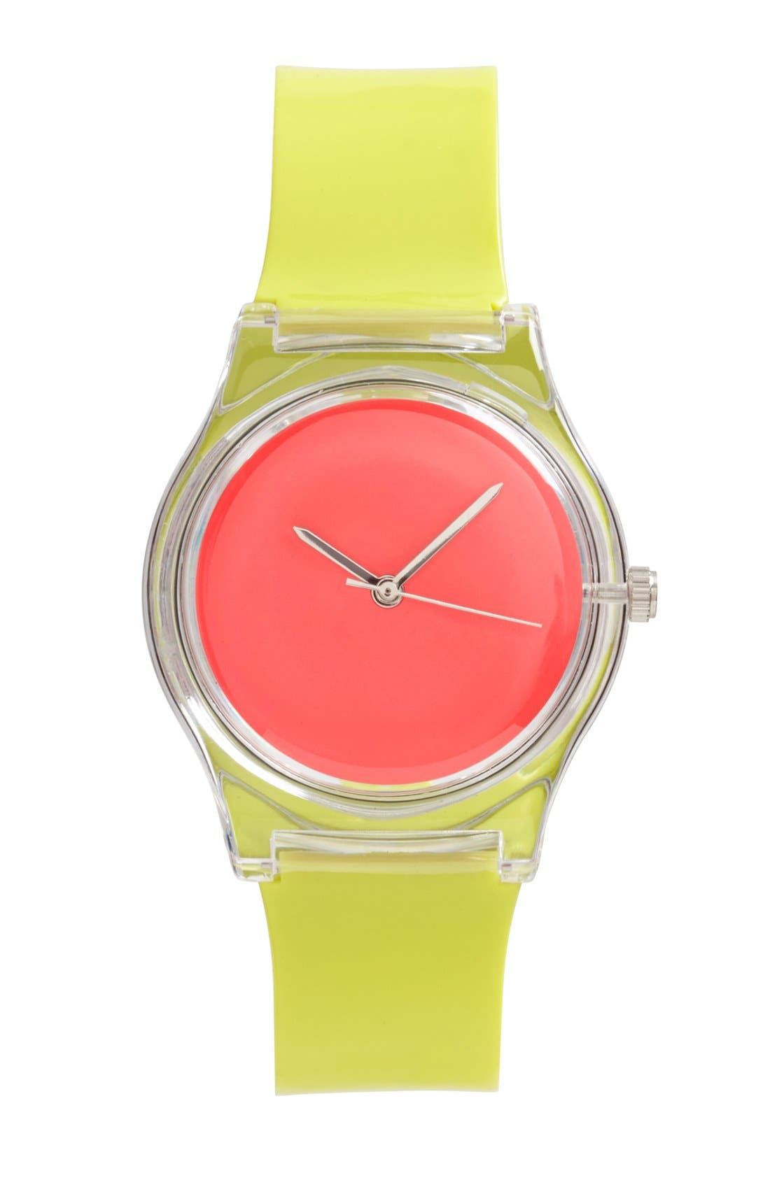 Main Image - MAY28TH Neon Colorblock Watch, 25mm